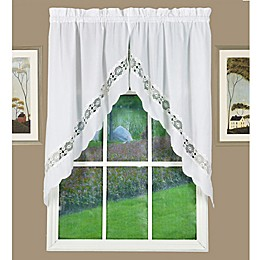 Today's Curtain Caylee Kitchen Window Swag Pair