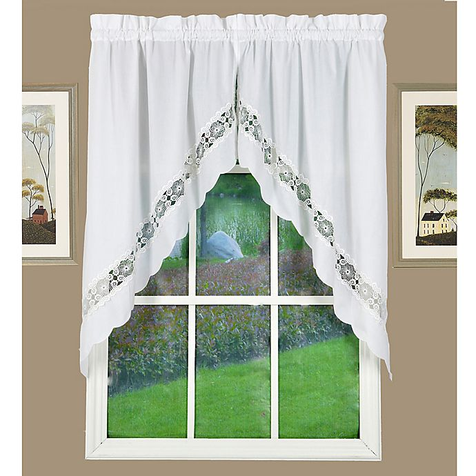 Alternate image 1 for Today's Curtain Caylee Kitchen Window Swag Pair