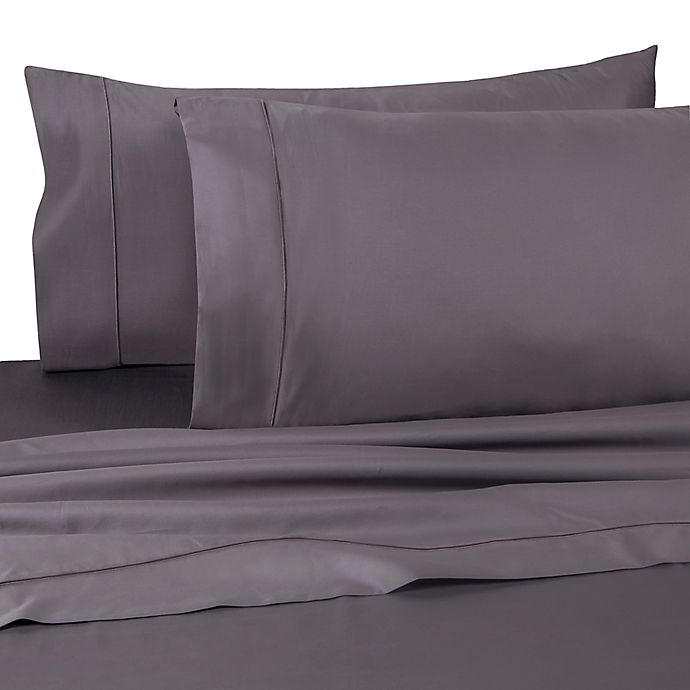 Alternate image 1 for Wamsutta® Dream Zone® PimaCott® 725-Thread-Count Twin XL Flat Sheet