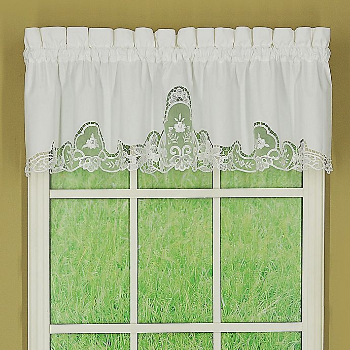 Alternate image 1 for Today's Curtain Annabelle Window Valance