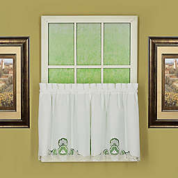 Today's Curtain Annabelle Kitchen Window Curtain Tier Pair