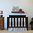 Part of the Go Mama Go Designs® Crib Bedding Collection in Blue/Chocolate