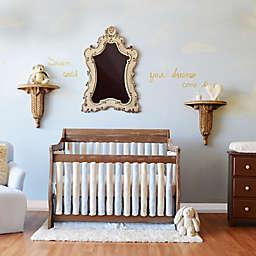 Go Mama Go Designs® Crib Bedding Collection in Blue/Cream