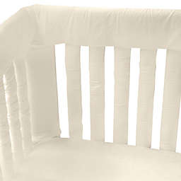 Go Mama Go Designs® 30-Inch x 6-Inch Organic Cotton Teething Guards in Ivory (Set of 2)