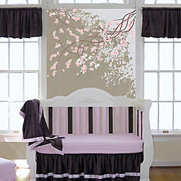 Go Mama Go Designs® Crib Bedding Collection in Pink/Chocolate