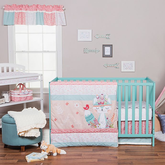 Trend Lab 174 Wild Forever Crib Bedding Collection Bed Bath