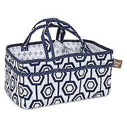 Trend Lab® Hexagon Storage Caddy in Blue/White