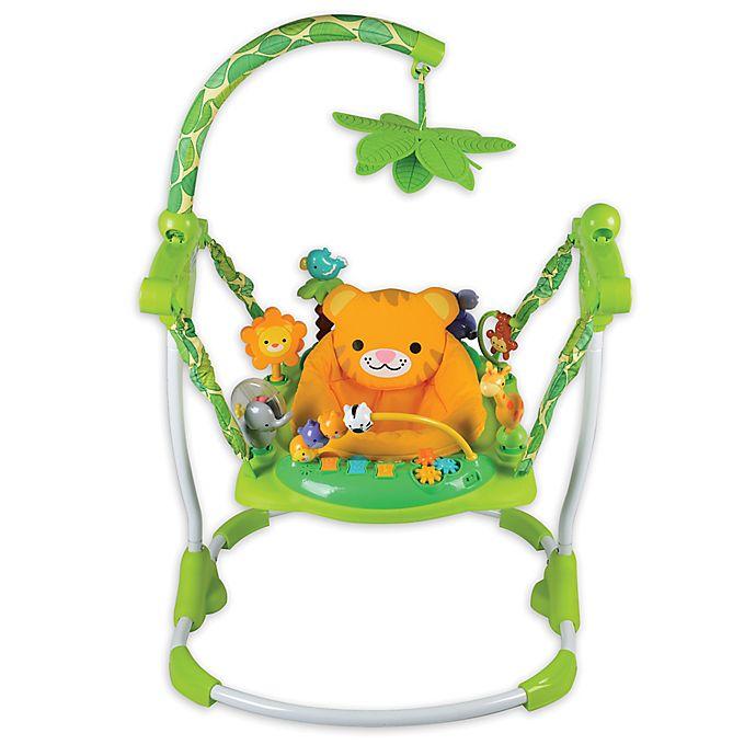 Alternate image 1 for Creative Baby Safari Jumper
