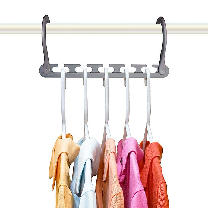 Alternate image 1 for 10-pack Wonder Hanger MAX™ in Grey