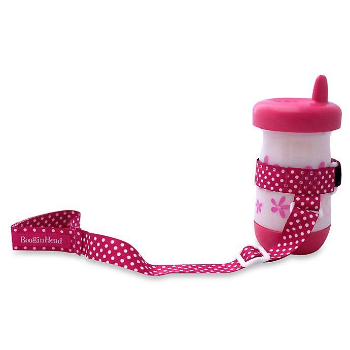 Alternate image 1 for BooginHead® SippiGrip Holder in Pink Dot