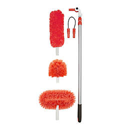 OXO Good Grips® Long Reach Dusting System in White/Red