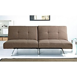 Abbyson Living® Aspen Leather Futon Sofa