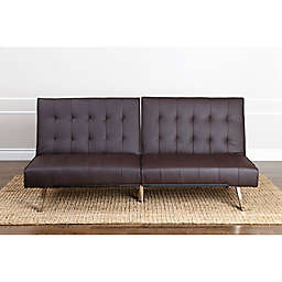 Abbyson Living® Jackson Faux Leather Futon Sofa