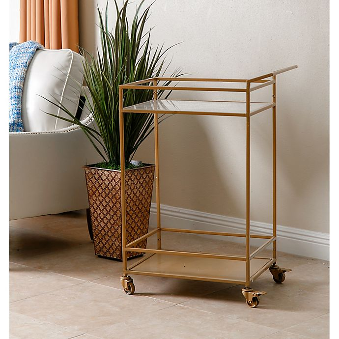 Alternate image 1 for Abbyson Living® Marriot 2-Tier Kitchen Cart