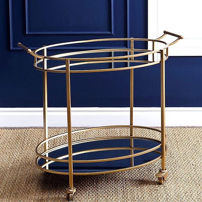 Alternate image 1 for Abbyson Living® Marriot 2-Tier Oval Bar Cart