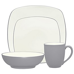 Noritake® Colorwave Square Dinnerware Collection in Slate