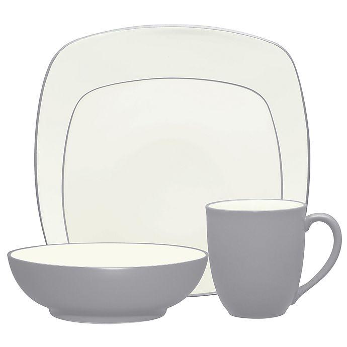 Alternate image 1 for Noritake® Colorwave Square Dinnerware Collection in Slate