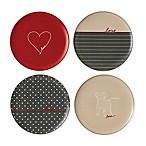 ED Ellen DeGeneres Crafted by Royal Doulton®  Love  Signature Salad Plates (Set of 4)