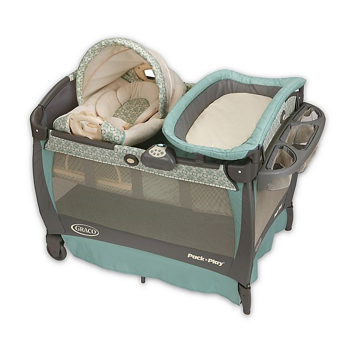 Alternate image 1 for Graco® Pack 'n Play® Playard with Cuddle Cove™ Rocking Seat in Winslet™
