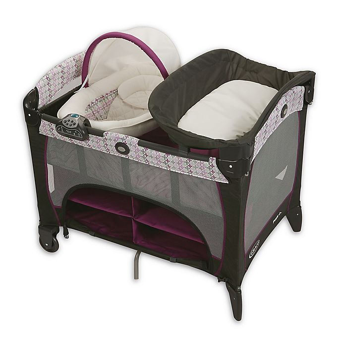 Alternate image 1 for Graco® Pack 'n Play® Playard Newborn Seat® Station DLX in Nyssa™