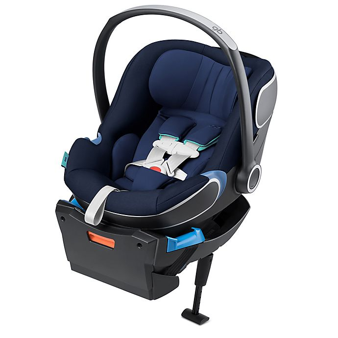 Alternate image 1 for GB Idan Infant Car Seat with Load Leg Base in Seaport Blue