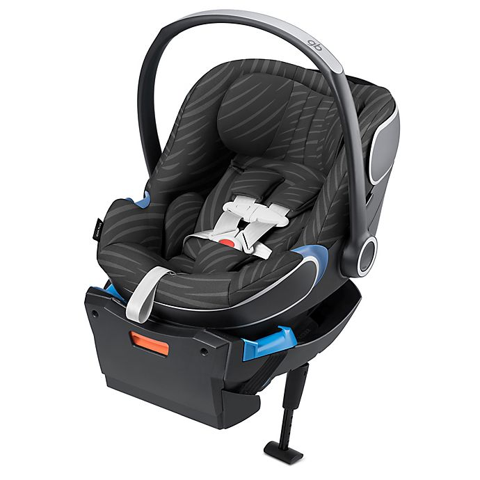 Alternate image 1 for GB Idan Baby PLUS Infant Car Seat with Load Leg Base in Lux Black