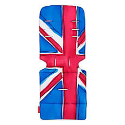 Maclaren® Union Jack Princess Blue Universal Seat Liner in Blue/Red
