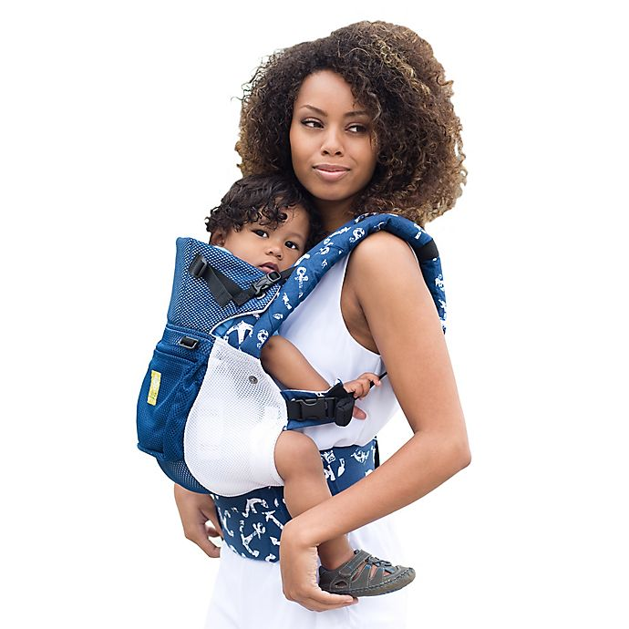 Alternate image 1 for LÍLLÉbaby® COMPLETE™ Airflow Baby Carrier in Anchors Away