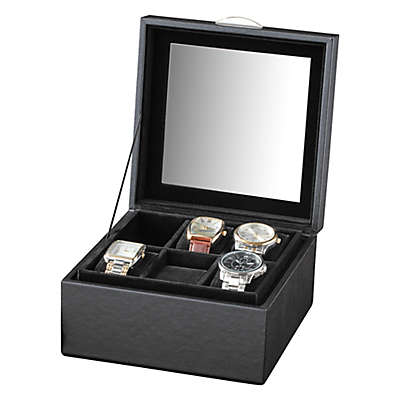 Watch Storage Case in Black