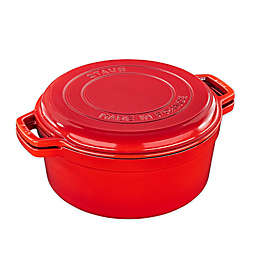 Staub Cast Iron 7 qt. Braise and Grill