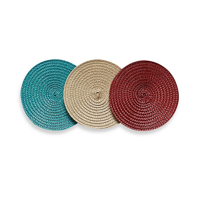 Alternate image 1 for Promo Indoor/Outdoor Round Coasters (Set of 4)