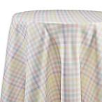 Spring Splendor Gingham 70-Inch Round Tablecloth in Multi