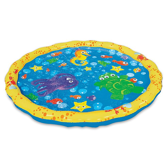 Alternate image 1 for Banzai Sprinkle 'N Splash Play Mat