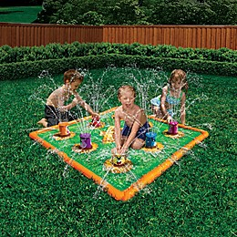 Banzai Smash 'N Splash Gopher Field Play Mat
