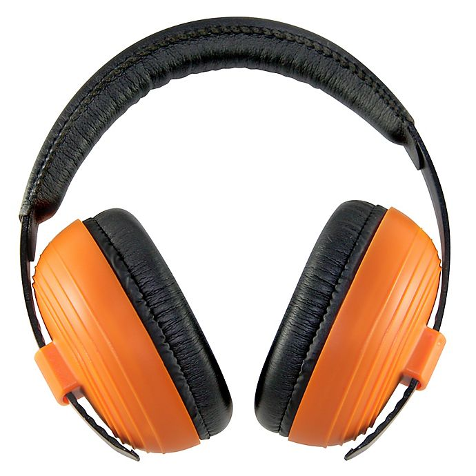 Alternate image 1 for Kidco® Whispears™ Hearing Protection Headphones in Orange