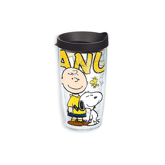 Alternate image 1 for Tervis® Peanuts™ 16-Ounce Wrap Tumbler with Lid