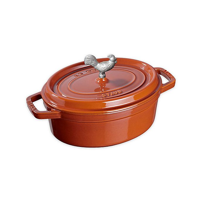 Alternate image 1 for Staub Cocotte Cookware in Burnt Orange