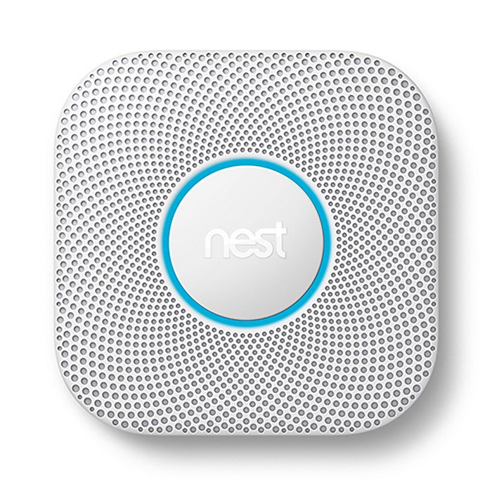 Alternate image 1 for Nest Protect Second Generation Battery Smoke and Carbon Monoxide Alarm