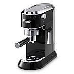 De'Longhi Dedica Pump Espresso & Cappuccino Machine in Black