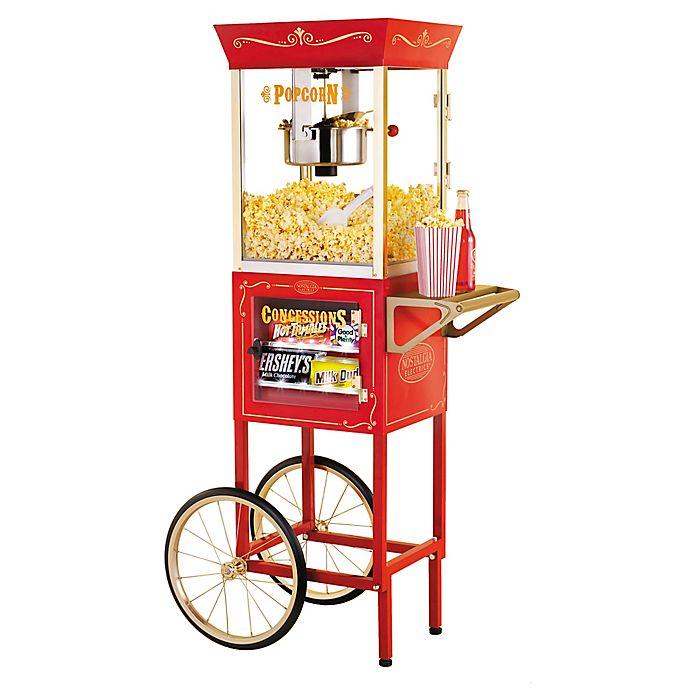 ffedc1a140 Nostalgia™ Electrics Vintage Collection 59-Inch 8 oz. Kettle Popcorn Cart