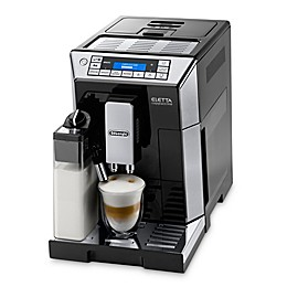 De'longhi Eletta Top Fully Automatic Espresso and Cappuccino Machine in Stainless Steel/Black