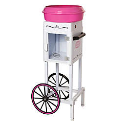 Nostalgia™ Electrics Cotton Candy Cart in White/Pink
