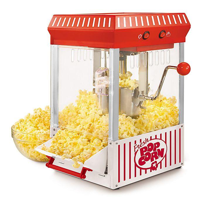 Alternate image 1 for Nostalgia™ Electrics Vintage Collection™ 2.5 oz. Kettle Popcorn Popper in Red