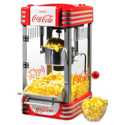 Nostalgia™ Electrics Coca Cola® 2.5 Oz. Kettle Popcorn Popper In Red by Bed Bath And Beyond