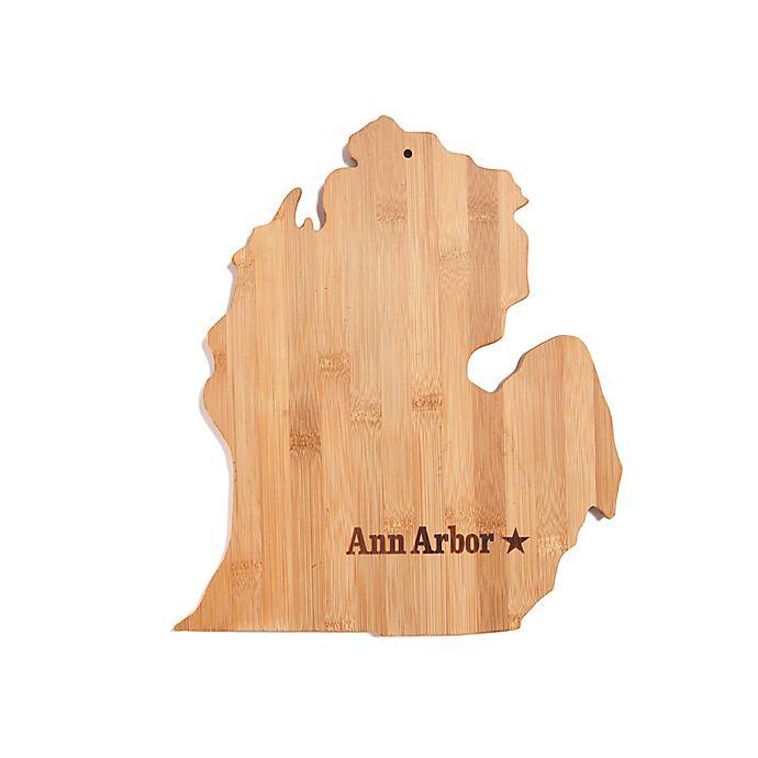 Alternate image 1 for Core Bamboo Ann Arbor, Michigan Cutting Board