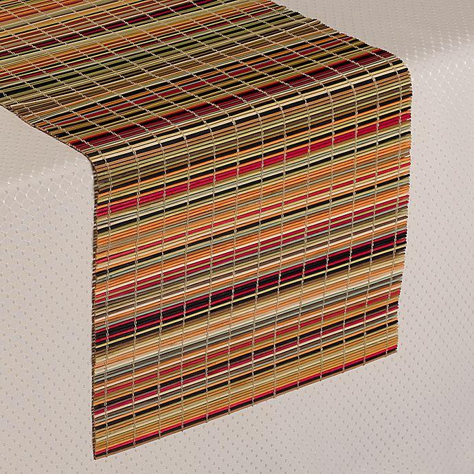 Alternate image 1 for Bamboo Stripe Table Runner