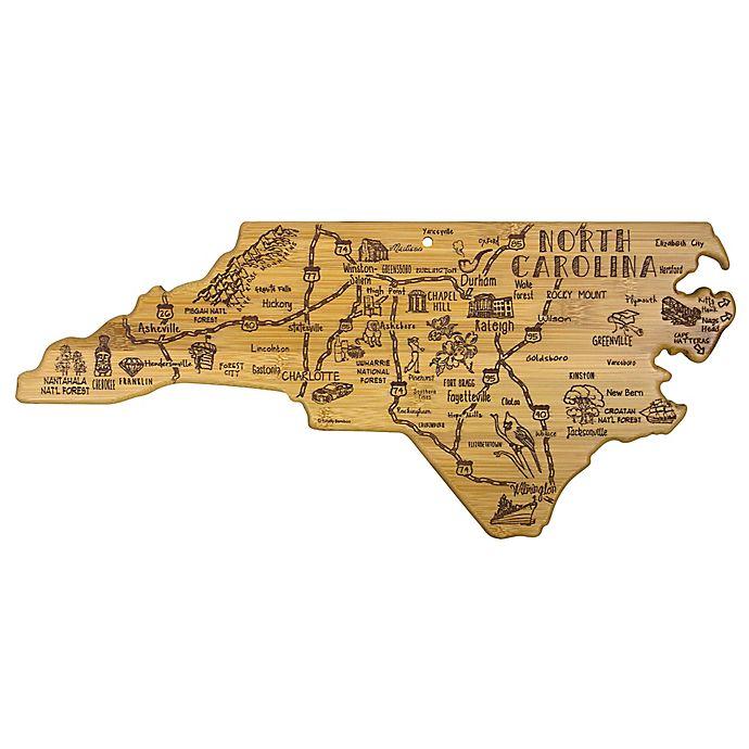 Alternate image 1 for Totally Bamboo® North Carolina Destination Cutting Board