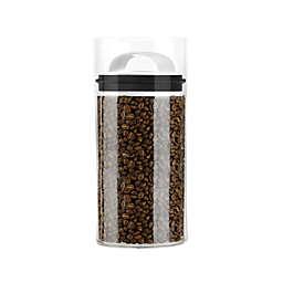 Prepara® Evak Fresh Saver Metropolitan 2.3 qt. Storage Canister in White/Black