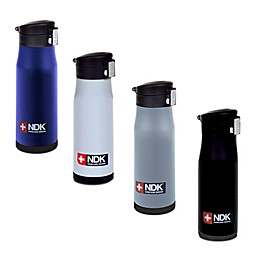 NDK Flip-Top Locking 18 oz. Vacuum Insulated Water Bottle