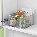 .ORG Large Pantry Organizer Bin in Silver